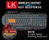 Клавиатура A4 Bloody B318,  USB, c подставкой для запястий, черный вид 15