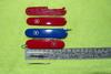 Набор накладок для перочинных ножей Victorinox (C.3600.3+C.3600.4) красный вид 3