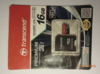 Карта памяти microSDHC UHS-I TRANSCEND 16 ГБ, 60 МБ/с, 400X, Class 10, TS16GUSDU1,  1 шт., переходник SD вид 5