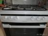 Газовая плита HANSA FCMW68020,  электрическая духовка,  белый вид 2