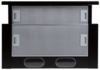 Вытяжка встраиваемая Elikor Интегра 50П-400-В2Л черный управление: кнопочное (1 мотор) [кв ii м-400-50-250] вид 4