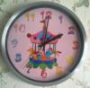 Настенные часы БЮРОКРАТ WallC-R13M, аналоговые,  серебристый вид 2