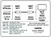 Кабель аудио-видео HAMA H-83073,  HDMI (m)  -  HDMI (m) ,  10м, GOLD черный [00083073] вид 4