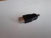 Переходник USB2.0 NINGBO mini USB B (m) -  USB A(f) вид 5