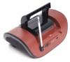 Аудиомагнитола ROLSEN RBM413BR,  коричневый вид 13
