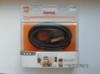 Кабель соединительный аудио-видео HAMA SCART (m)  -  SCART (m) ,  3м, GOLD черный [00122144] вид 2