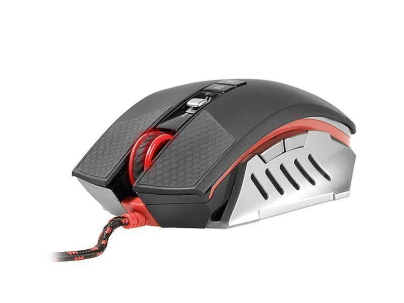 Мышь A4 Bloody Terminator TL60 черный/серый лазерная (8200dpi) USB2.0 игровая (8but)